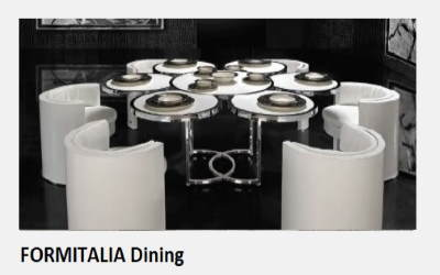 FORMITALIA Dinning collection (LHL Prague, a.s.)